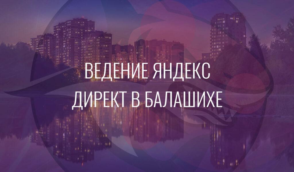 Ведение Яндекс Директ в Балашихе