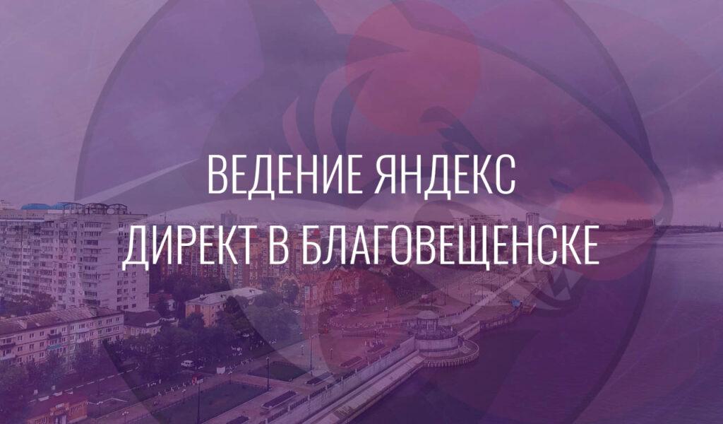 Ведение Яндекс Директ в Благовещенске