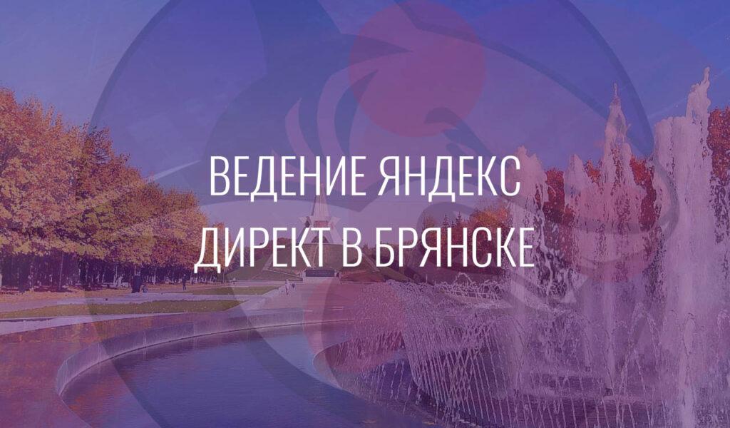 Ведение Яндекс Директ в Брянске