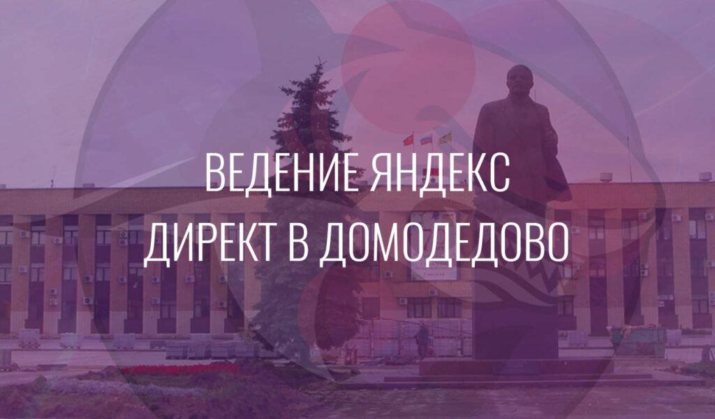 Ведение Яндекс Директ в Домодедово