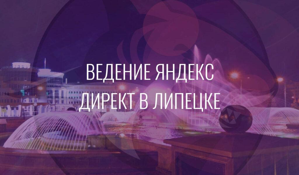 Ведение Яндекс Директ в Липецке