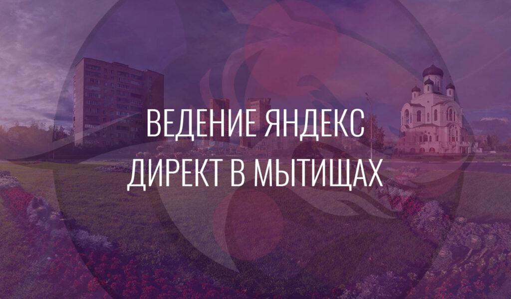 Ведение Яндекс Директ в Мытищах