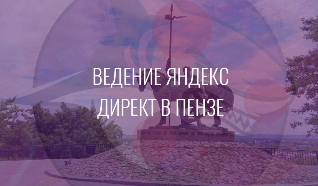 Ведение Яндекс Директ в Пензе
