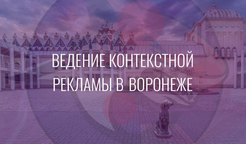Ведение контекстной рекламы в Воронеже