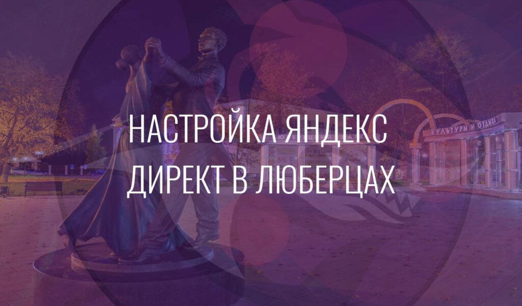 Настройка Яндекс Директ в Люберцах